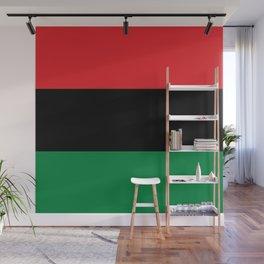 flag of Pan-Africanism or Unia Wall Mural