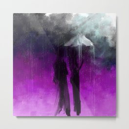 Not Enough Umbrella  Metal Print