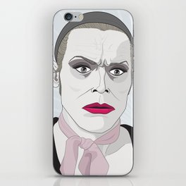 It's on now. iPhone Skin