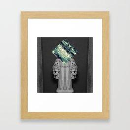 Of Two Minds Framed Art Print