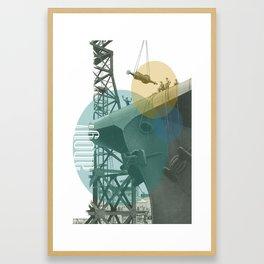 Ahoy! Framed Art Print
