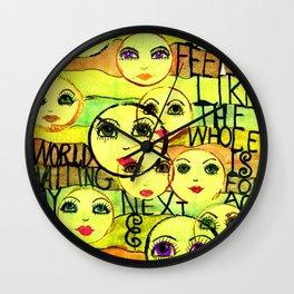 My Next Act Wall Clock