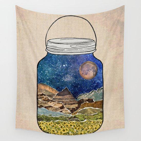 Star Jar Wall Tapestry