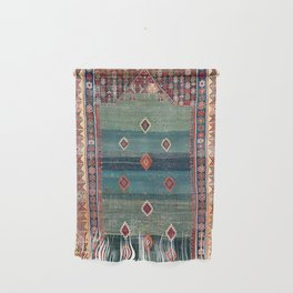 Sivas Antique Turkish Niche Kilim Print Wall Hanging