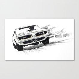 1969 Muscle Car Canvas Print