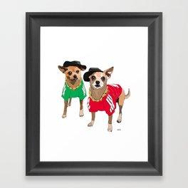 Run DMChi Framed Art Print