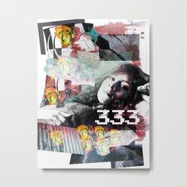 333 Metal Print