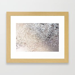 Sparkling GOLD Lady Glitter #6 #decor #art #society6 Framed Art Print