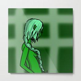 Green | Veronica Nagorny Metal Print