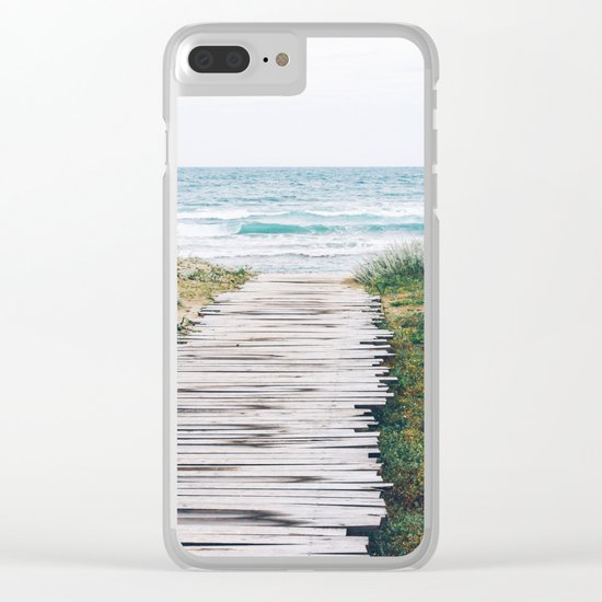 Path to my Heart Clear iPhone Case