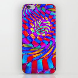 Tumbler #34 Trippy Psychedelic Optical Illusion Design by CAP iPhone Skin