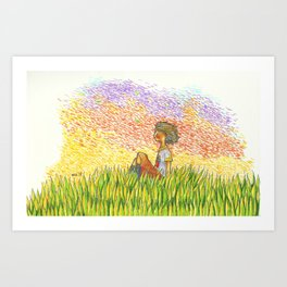 Afternoon Wind Art Print