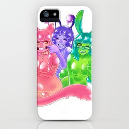 Can't Spell Slime Without SMILE iPhone Case