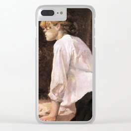 The Laundress Clear iPhone Case