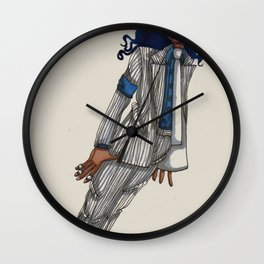 Smooth Criminal Wall Clock