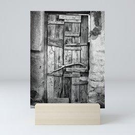 Ancient Doorway Mini Art Print