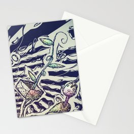 Magic Beans Stationery Cards