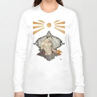 saturn Long Sleeve T-shirts featuring Saturn by Audrey Nichols