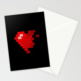 Pixel Heart Failure Stationery Cards