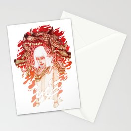 GUARDIAN OF THE HELL GATE Stationery Cards