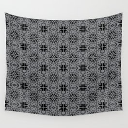 Sharkskin Star Geometric Wall Tapestry