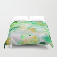 monet Duvet Covers featuring Monet by acrylikate