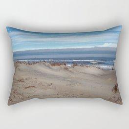 Assateague Waves 4 Rectangular Pillow