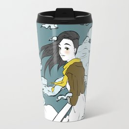 Girl in the Clouds Travel Mug