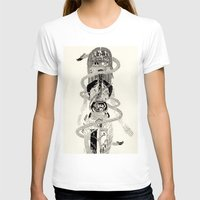 biology T-shirts featuring Soul Biology  by Ursula Hart