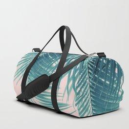 Palm Leaves Summer Vibes #11 #tropical #decor #art #society6 Duffle Bag