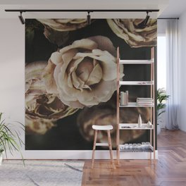 Autumn Roses Wall Mural