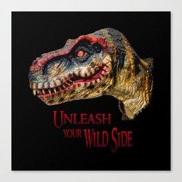 T-Rex Dinosaur - Unleash your wild side Canvas Print