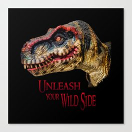 T-Rex Dinosaur - Unleash your wild side Canvas Print