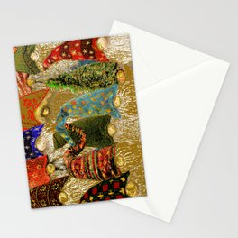 12 Nisse - Lucky Gnomes Stationery Cards