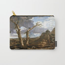 Washington Allston Elijah in the Desert Carry-All Pouch