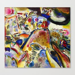 Wassily Kandinsky - Small Pleasures Canvas Print