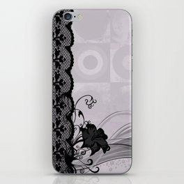 Pastel Lace iPhone Skin