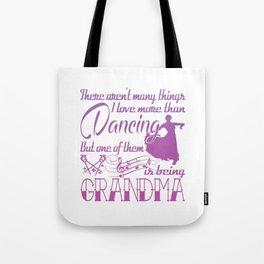 Dancing Grandma Tote Bag