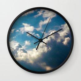 Cloud Pillows Wall Clock