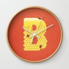 Honey B Wall Clock