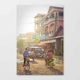Siem Reap, Cambodia – Afternoon Light Canvas Print