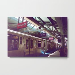 Chicago Transit Metal Print