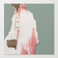 herringbone Canvas Prints featuring Herringbone by ricola wille