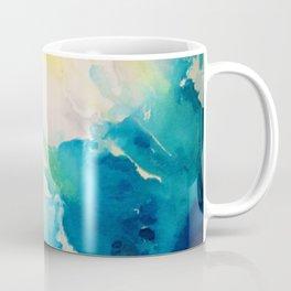 Costal Bright Summer Beach Abstract Coffee Mug
