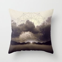 Beyond the Fog Lies Clarity | Dawn Throw Pillow