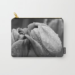 Tulips In Drops Carry-All Pouch