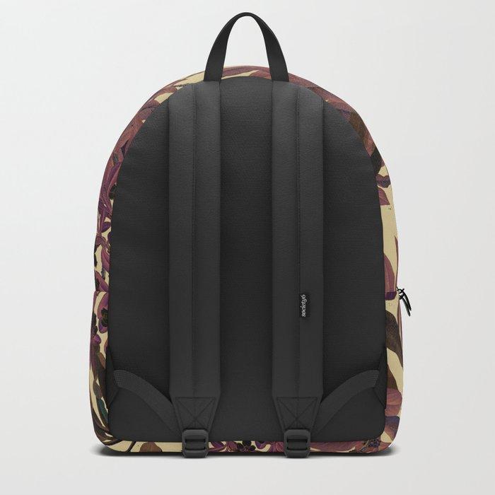 Purple Leaves Backpack