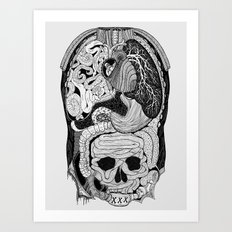 Gross Anatomy Art Print