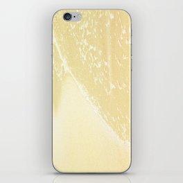 Kapalua Beach sparkling golden sand and seafoam Maui Hawaii iPhone Skin