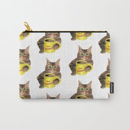 Top Priority Coffee Cat Carry-All Pouch